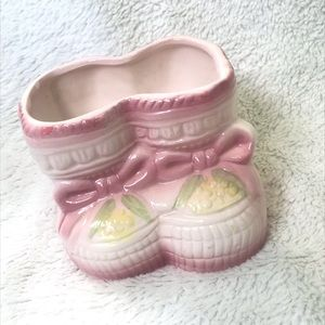 Nancy Pew Giftware | Baby Boots Planter